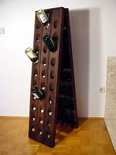 Old riddling rack, wine rack, Champagne, for 60 bottles