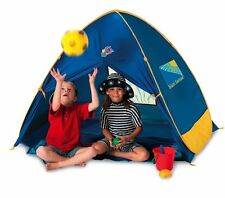 JUNIOR 50+ UV / UPF Pop Up Beach Tent Play Shade Sun Shelter Garden Protection