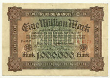 GERMANY - Weimar, 1 Million Mark, Feb. 20, 1923 - Pick #86a
