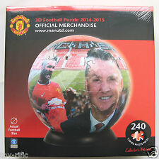 MANCHESTER UNITED F C - 3D PUZZLEBALL PUZZLE BALL JIGSAW - BRAND NEW SEALED BOX