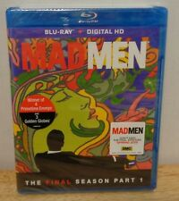 MAD MEN The Final Season Part 1 Blu-Ray + Digital HD NEW!