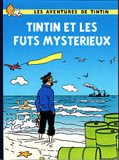 HOMMAGE A HERGE TINTIN ET LES FUTS MYSTERIEUX