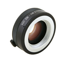 Zhongyi Turbo II Focal Reducer Booster Adapter M42 Lens to Sony E NEX 7 6 5T 5N