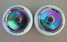 DIS 120mm Hollow Core Slicks Metal Core Scooter Wheels (2 Wheels) - w/ABEC-11