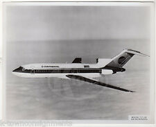 CONTINENTAL AIRLINES 727 MICRONESIA PLANE VINTAGE AVIATION ADVERTISING PHOTO
