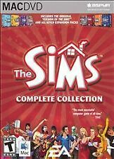 MAC DVD The Sims: Complete Collection (Mac, 2006) Complete Package