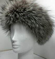 Real Silver Fox Headband New (made in the U.S.A.)