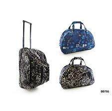 KS Brands BB0795 Printed Weekend Wheeled Trolley Bag 2 Designs New