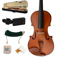 New 4/4 Full Size Wood Color Violin +Everything You Need for Beginner