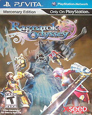 Ragnarok Odyssey Mercenary Edition (PlayStation Vita, 2012) Sealed New