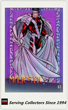 1997 Marvel VS Wildstorm Trading Cards Clear Chrome A7 Majestic