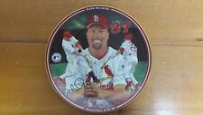 Collector Plate  Mark McGuire Record Pace from Collection Home Run Hero