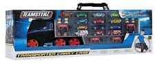 Teamsterz Transporter Truck Diecast Toy Car Large Storage Carry Case + 12 Cars