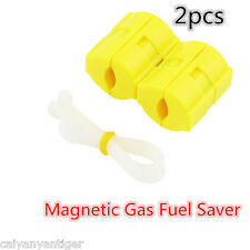 2pcs Magnetic Gas Fuel Saver Duo For All Cars&Truck Reduce Emission Universal