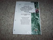 1999 Land Rover Range Rover Electrical Wiring Diagrams Manual 4.0 4.6 V8 SE HSE