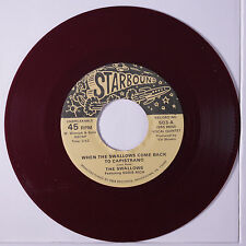 SWALLOWS: When The Swallows Com Eback To Capistrano / Sit And Hold My Hand 45 (