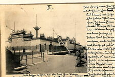 24652 PC Postcard China Shanghai Chinese Tempel 1902 AK chinesischer Tempel