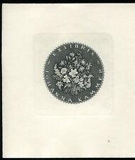 EXLIBRIS,145,Friedrich Teubel - Blumen
