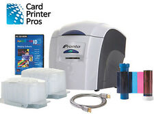 Magicard Pronto ID Card Printer Package (New -  2 Year Warranty)
