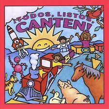 Todos Listos Canten: Canciones Para Ninos, Barchas, Sarah With De Colores C, Acc