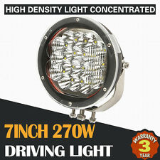 """7INCH 270W CREE LED SPOT FLOOD DRIVING LIGHT OFFROAD BAR REPLACE HID SUV ATV 20"""""""