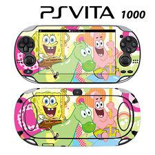 Vinyl Decal Skin Sticker for Sony PS Vita PSV 1000 Spongebob Squarepants Patrick
