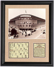 Brooklyn Dodgers old Ebbets Field 1st game 1913 photo tribute
