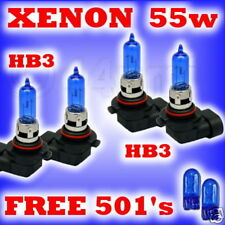 55w XENON HEADLIGHT BULB SET FORD Puma all HB3 HB3
