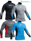 Gul Xola Mens Long Sleeve Rash Guard Vest Wetsuit Top UV 50+ Surf Swim Dive