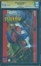 Ultimate Spider Man 1 CGC SS 9.8 Stan Lee German Edition 2000 Civil War Movie