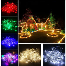 220V 100 LED 10m LED String Fairy Holiday Decoration Light Wedding Xmas Party