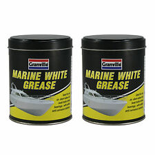 2 x Marine White Grease Lubricant Salt Water Repellent Resistant Anti Corrosion