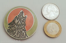 ☆ Wolf Pack Geocoin v2 Glow in the Dark Unactivated Trackable Sold Out