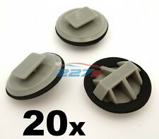 20x Plastic Trim Clips for Mazda Sill Moulding / Rocker Cover Trim Clips