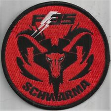 USAF 34th  FIGHTER SQ PATCH       'F-35'      'SCHWARMA''      VELCRO     COLOR