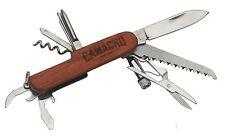 Camacho Cigar 11 Blade Survival / Pocket Knife & Built In Flashlight by Davidoff