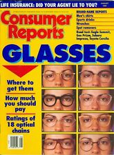 1993 Consumer Reports Magazine: Eye Glasses/Optical Chains/Wrenches/Eagle Summit