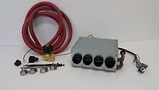 CAR AND TRUCK  HEATER 12V UNDER DASH  3 SPEED SWITCH ELECTRIC CONTROL VALVE KIT
