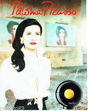 """PUBLICITE ADVERTISING 056  1994   Parfum Paloma Picasso  """"Mon Parfum"""""""