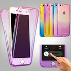 Shockproof TPU 360° Protective Clear Case Cover For Apple iPhone Models