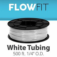 "Express Water 1/4"" Quarter Inch PE Tubing for Reverse Osmosis RO System 500 Feet"