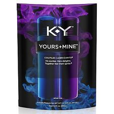 K-Y KY Jelly YOURS AND MINE His Hers Couples Lubricants 2 x1.5 OZ EXP. 12 /15