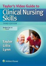 Taylor's Video Guide to Clinical Nursing Skills - Online Software (Access Card),