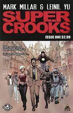 SUPER CROOKS (2012) - #1-4 COMPLETE  MINI SERIES SET LOT ICON MARK MILLAR DISNEY