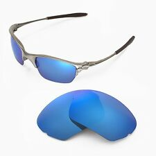 New Walleva Polarized Ice Blue Lenses For Oakley Half X