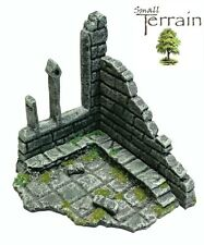 Wargames Scenery Terrain 28mm Scale Resin Ruined Chapel -  Age of Sigmar, WH40k