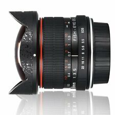 Ultra Wide 8mm F/3.5 Aspherical Circular Fisheye Lens for Nikon DSLR Cameras