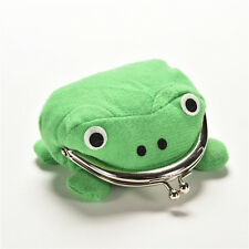 New  Precision Cool Personality Naruto Frog Wallet Green Coin Purse Wallet