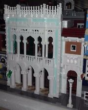 LEGO Modular Old Pharmacy and Library MOC instructions