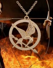 Alloy Pendant Necklace Love Gifts Hunger Games Mockingjay Bird Necklaces Gift